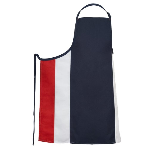 Fame® F33XL Adjustable V-Neck Bib Apron