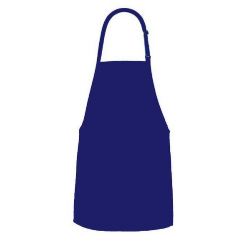 F53 Bib Apron with 2 Separate Patch Pocket