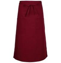 Full Bistro Apron, 2 Patch Pockets