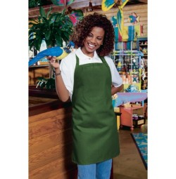 Bib Apron w/Adjustable Neck, No Pocket