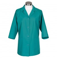 Female Smock 3/4 Length, Jade by Fame Fabrics