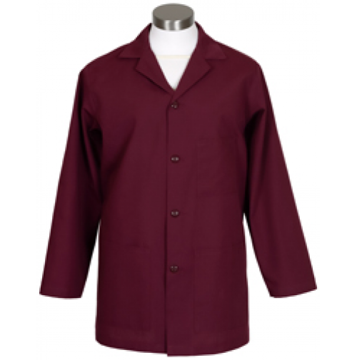 Male Counter Coat, Burgundy