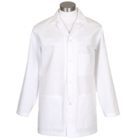 Male Counter Coat, White