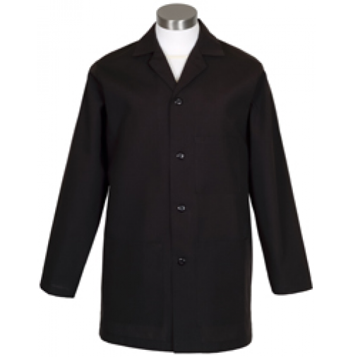 Male Counter Coat, Black
