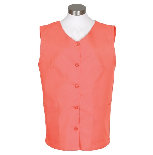 Sleeveless Tunic Smock, Salmon
