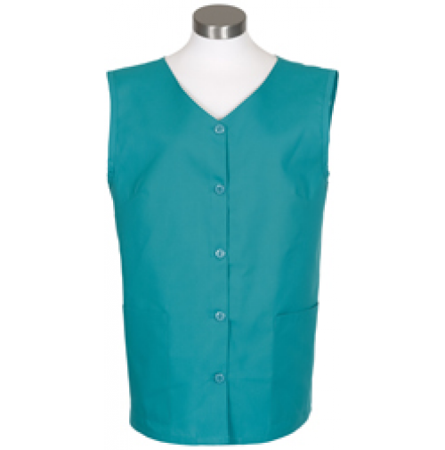 Sleeveless Tunic Smock, Jade