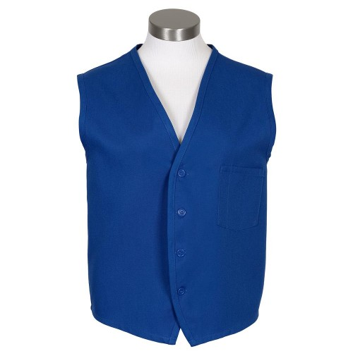 Unisex Vest, Royal Blue