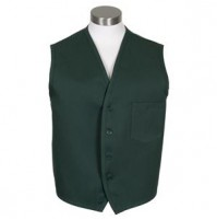 Unisex Vest, Hunter Green