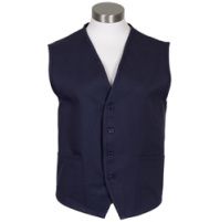 Unisex Uniform Vest, 2 Pocket, Navy