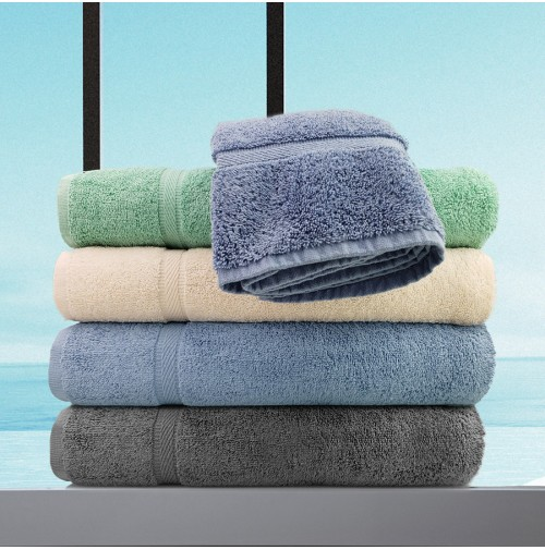 Oxford Imperiale Towels, Charcoal Grey