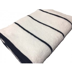 Oxford Horizontal Stripe Pool Towel