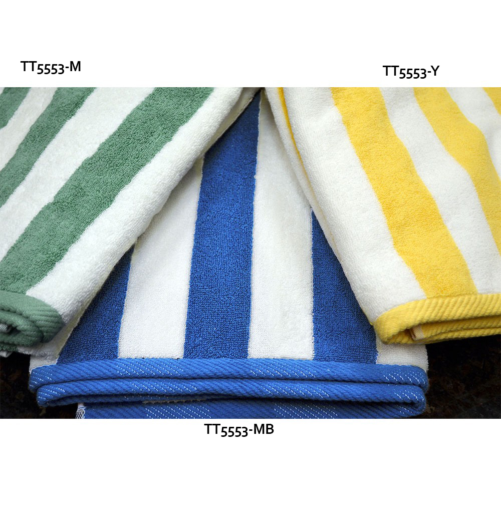 Cabana Stripe Beach Towels 35 X 70