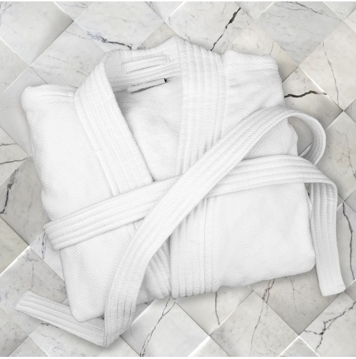 Oxford Double Sided Bathrobe