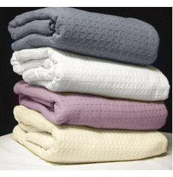 Santa Clara Cotton Thermal Blankets