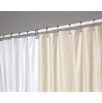 Ultra Suede Flame Retardant Shower Curtain