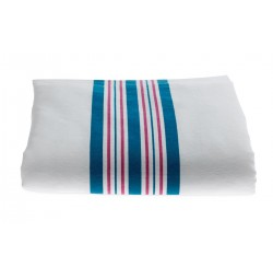 Baby Receiving Blankets, Pink and Blue Stripes