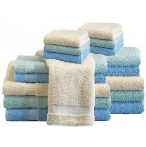 Ecru Towel Collection, 16s