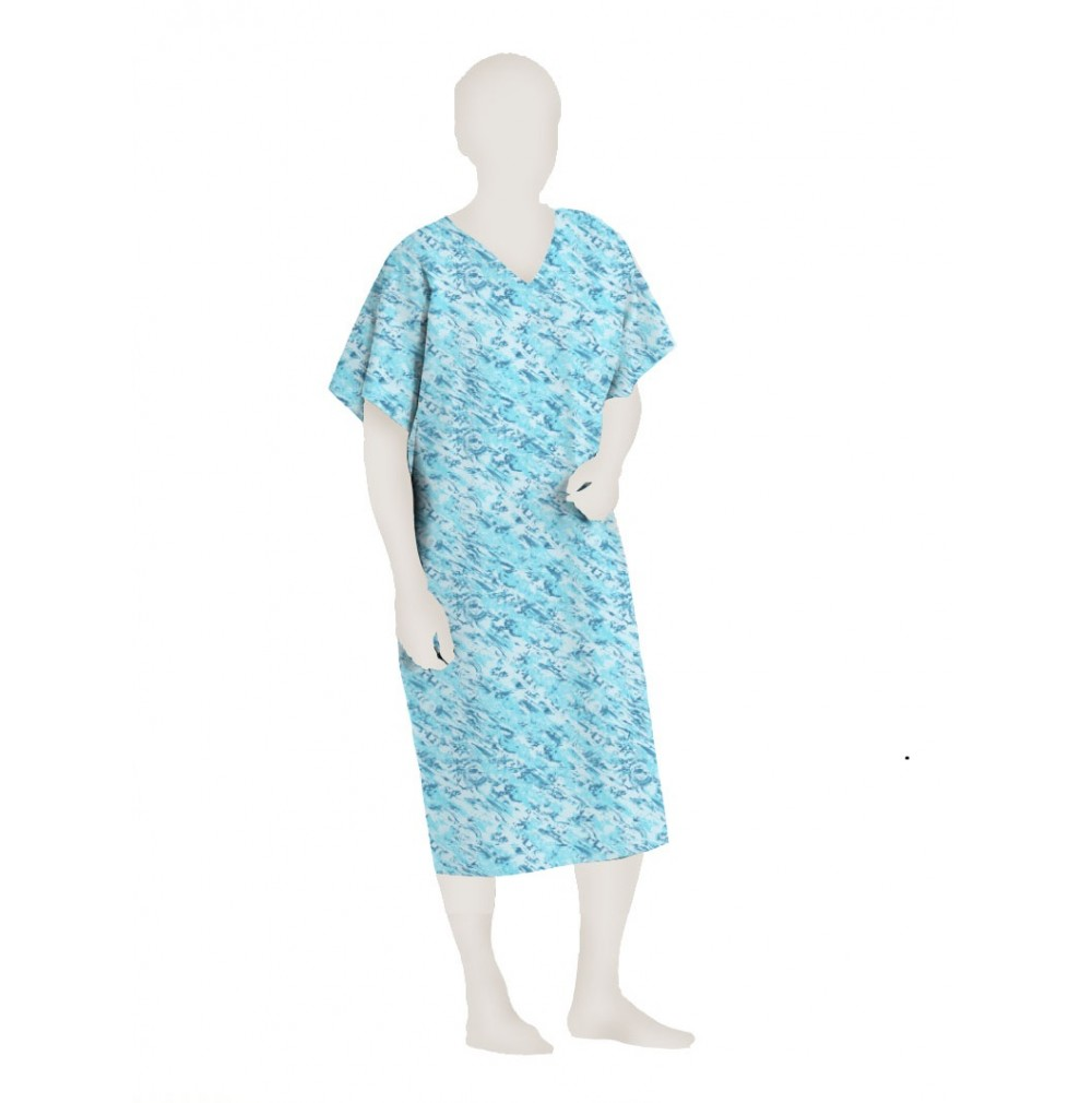 Polyester Hospital Patient Gown