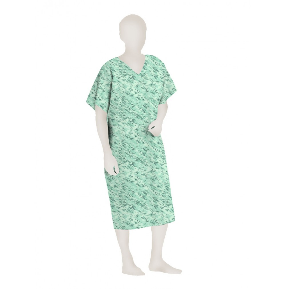 Polyester Hospital IV Patient Gown | Wholesale