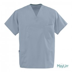 MayLin™ Unisex Reversible Scrubs, Misty Green