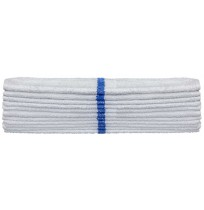 Center Stripe Bar Towels, Full Terry