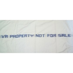 Hospital or VA Property Bath Towels