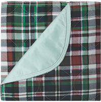 Highland Blue Plaid Underpads