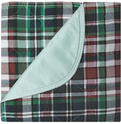 Dark Plaid Underpads