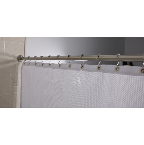 Standard Curtain Rod, Chrome