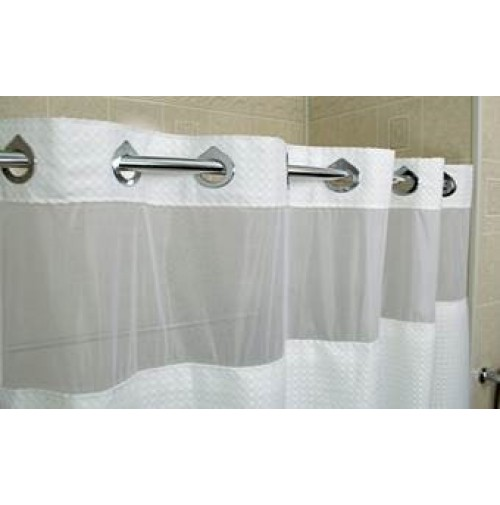 EZY Deluxe Waffle Shower Curtain