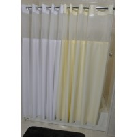 EZY Hang Moire Shower Curtain