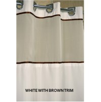 EZY Hang Matt Satin Shower Curtain