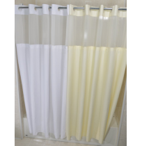 HANG2IT Moire Shower Curtain