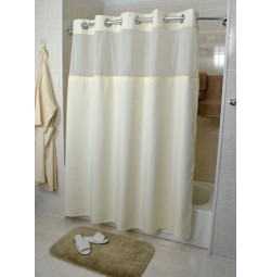 HANG2IT Duo Poly Shower Curtain