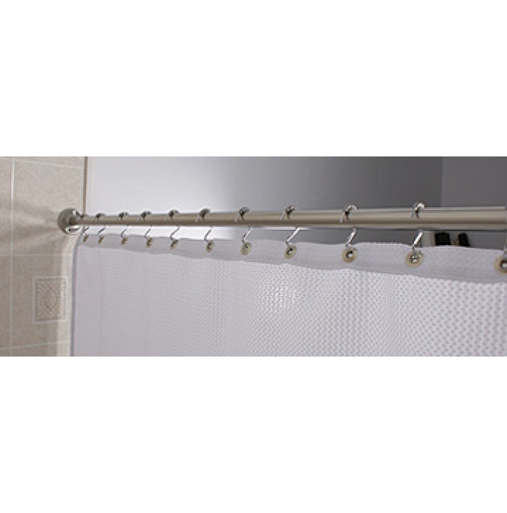 Exceptional Standard 60 Inch Shower Curtain Rod, Chrome