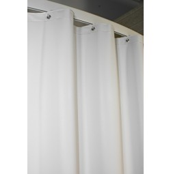 Pebbles San Suede Shower Curtain
