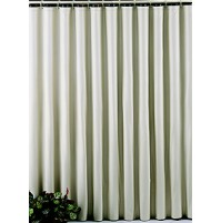 San Suede Flame Retardant Shower Curtain