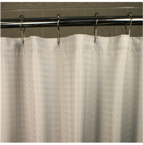 Sophia Flame Retardant Shower Curtain