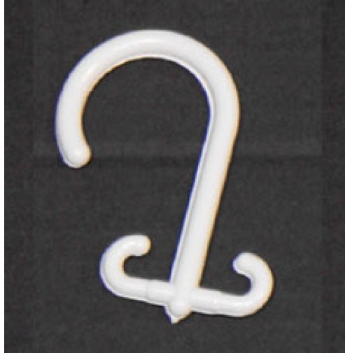 Plastic Double Open End Hooks