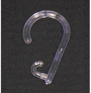 Plastic Single Open End Hooks