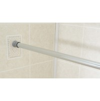 Tension Shower Curtain Rod, Chrome