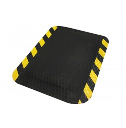 "Hog Heaven® 5/8"" Anti-fatigue Mats OSHA Striped Border"
