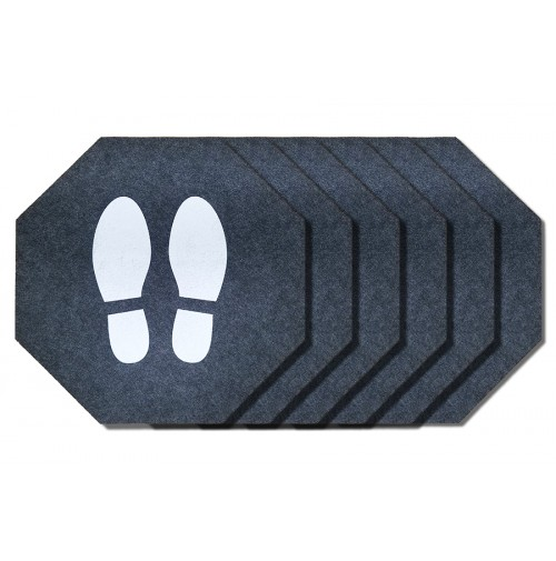Stick-and-Stand Mats