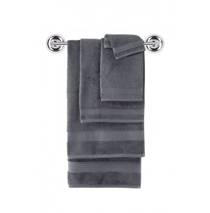 Amadeus Turkish Gray Towel Collection