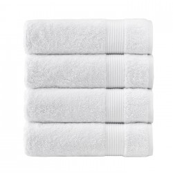 Amadeus Turkish White Towel Collection