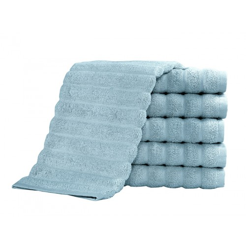 Brampton Turkish Spa Blue Towel Collection