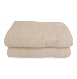 Turkish Ivory Silk Blend Towel