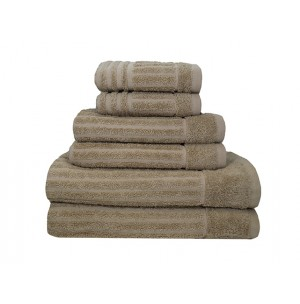 Shimmer Turkish 6 Piece Hotel Towel Collection