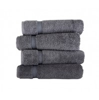 Royal Turkish Gray Towels Villa Collection