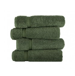 Royal Turkish Olive Green Towels Villa Collection